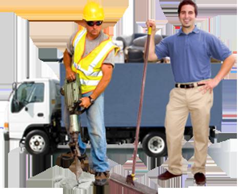 кърти чисти и извозва бетон Бургас